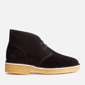 Clarks Originals Women's 221 Suede Desert Boots - Black