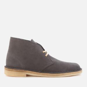 Clarks Originals Men's Suede Desert Boots - Slate