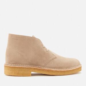 Clarks Originals Men's 221 Suede Desert Boots - Sand