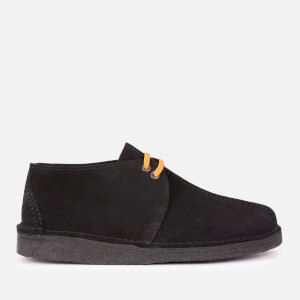 Clarks Originals Men's Desert Trek Suede Shoes - Black