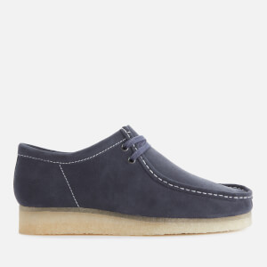 Clarks Originals Men's Suede Wallabee Shoes - Ink