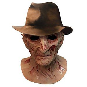Trick or Treat Nightmare on Elm Street Part 4 Deluxe Freddy Mask with Hat