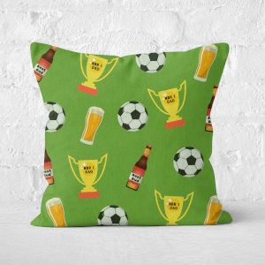 Football Fan Square Cushion