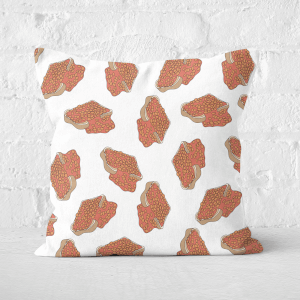 Baked Beans Square Cushion