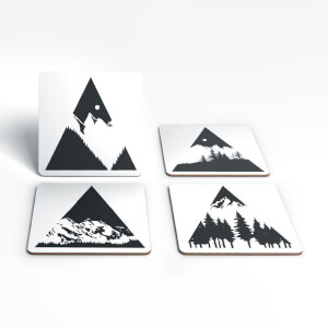 Mountains Coaster Set