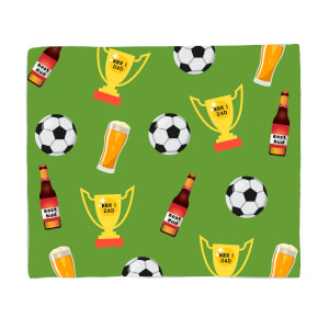 Football Fan Fleece Blanket