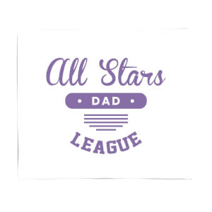 All Star Dad Fleece Blanket