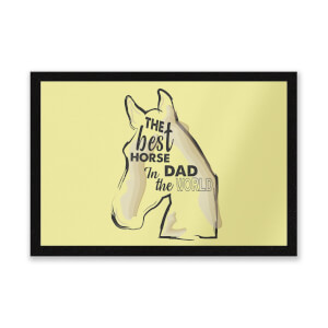 Horse Dad Entrance Mat