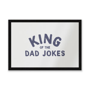 King Of The Dad Jokes Entrance Mat
