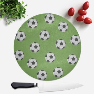 Football Round Chopping Board