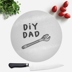 DIY Dad Round Chopping Board