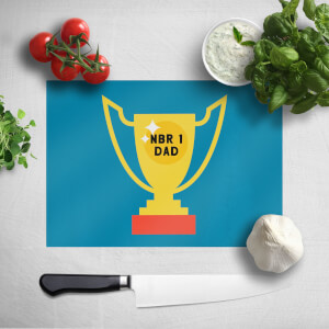 Nbr 1 Dad Cup Chopping Board