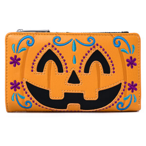 Loungefly Halloween Pumpkin Flap Wallet