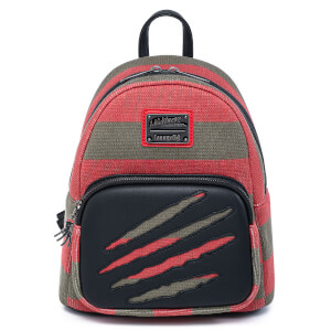 Loungefly Nightmare On Elm Street Freddy Sweater Mini Backpack
