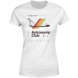 Astronomy Club Women's T-Shirt - White