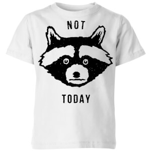 Not Today Kids' T-Shirt - White