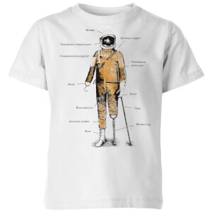 Astronaut Kids' T-Shirt - White