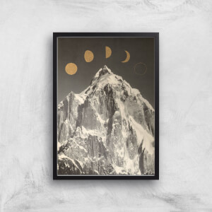 Moon Phases Giclee Art Print