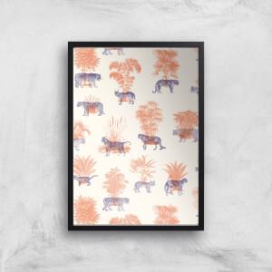 Where They Belong Tigers Giclee Art Print