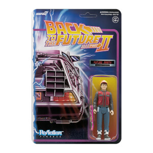 Super7 Back To The Future Part II ReAction Figure - Future Marty