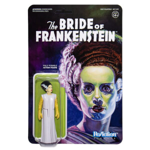 Super7 Universal Monsters ReAction Figure - Bride of Frankenstein Action Figure