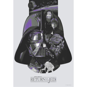 Star Wars: Return of the Jedi 'The Sixth' Lithograph by Devin Schoeffler