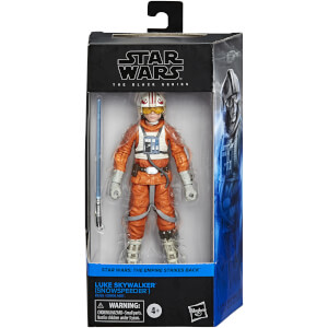 Star Wars The Black Series, figurine de collection Luke Skywalker (snowspeeder)