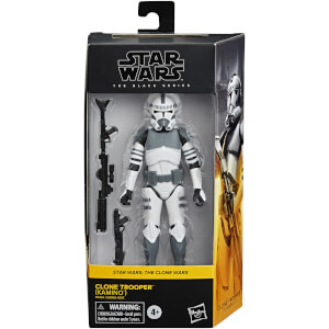 Figura Soldado Clon (Kamino) - Star Wars The Black Series