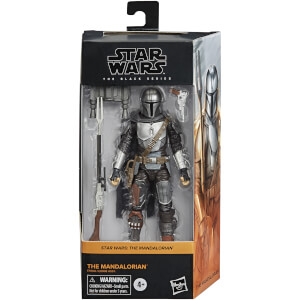 Figura de acción El Mandaloriano - Star Wars The Black Series