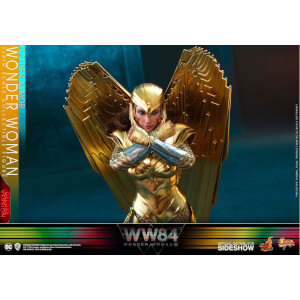 Hot Toys Wonder Woman 1984 Movie Masterpiece Action Figure 1/6 Golden Armor Wonder Woman (Deluxe) 30cm