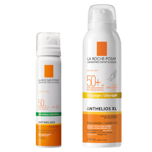 La Roche Posay Sun Protection Mist Face + Body Expert Bundle