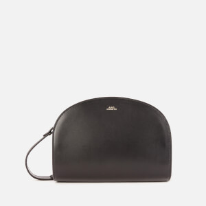 A.P.C. Women's Demi-Lune Crossbody Bag - Black