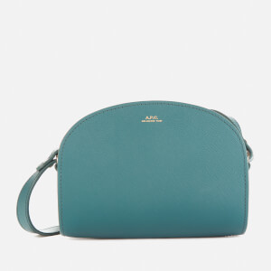 A.P.C. Women's Mini Demi-Lune Bag - Blue