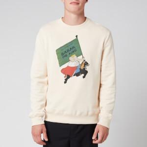 Lanvin Men's Babar Sweatshirt - Ecru