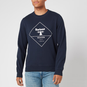 Barbour Beacon Men's Outline Sweatshirt - New Navy