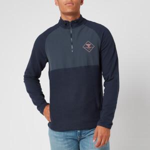 Barbour Beacon Men's Tarn Half Zip Sweatshirt - Navy