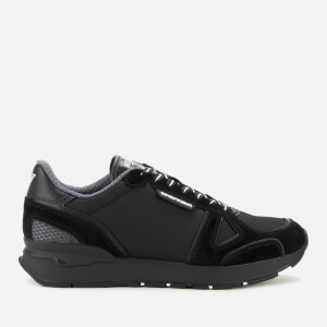 Emporio Armani Men's Running Style Trainers - Black