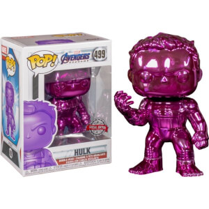 Marvel Avengers 4 Purple Chrome Hulk EXC Pop! Vinyl Figure