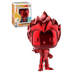 Dragon Ball Vegeta Red Chrome SDCC 2019 EXC Pop! Vinyl Figure