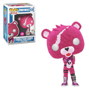 Fortnite Cuddle Team Leader Flocked EXC Funko Pop! Vinyl