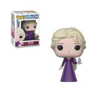 Disney Frozen 2 Elsa Nightgown EXC Pop! Vinyl Figure