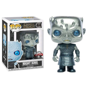 Game of Thrones Night King Metallic EXC Funko Pop! Vinyl