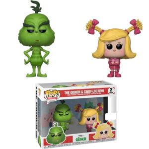 The Grinch Grinch and Cindy Lou 2-Pack EXC Funko Pop! Vinyl