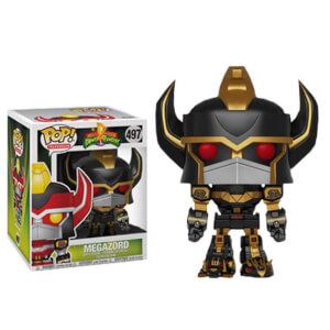 Power Rangers Megazord (Black & Gold) 6-Inch EXC Pop! Vinyl