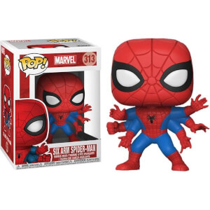 Marvel Spider-Man Six Arm Spider-Man EXC Pop! Vinyl Figure