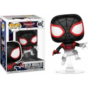 Marvel Spider-Man: Into The Spiderverse Miles Morales Translucent EXC Funko Pop! Vinyl