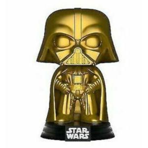 Star Wars Darth Vader Gold Metallic EXC Pop! Vinyl Figure