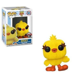 Toy Story 4 Ducky Flocked EXC Pop! Vinyl Figure