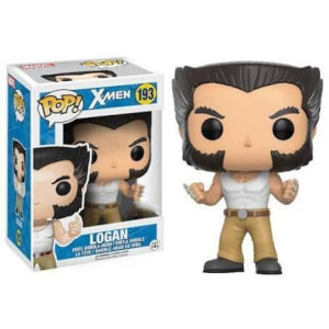 Marvel X-Men Logan With Tank Top EXC Pop! Vinyl Figure