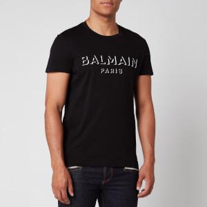 Balmain Men's 3D Logo T-Shirt - Black